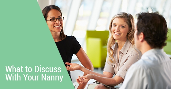 Discussion With Nanny